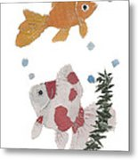 Goldfish Art Metal Print