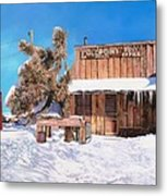 Goldpoint-nevada Metal Print