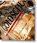 Goldschlager Metal Print by Mamie Thornbrue