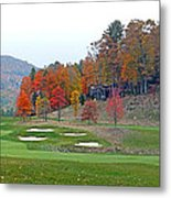 Golf Course At Lake Toxaway Metal Print