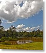 Golf Course Landscape Metal Print