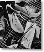 Golf Equipment Metal Print