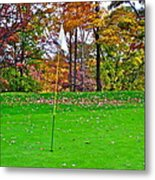 Golf My Way Metal Print by Frozen in Time Fine Art Photography