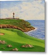 Golf Old Head Of Kinsale Metal Print