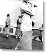Golfer Joyce Wethered Metal Print