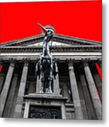 Goma Pop Art Red Metal Print