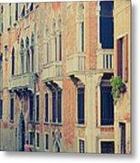 Gondola In Venice  Metal Print