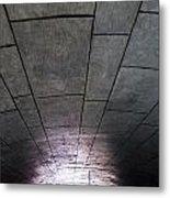 Gondola Ride Tunnel Metal Print