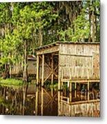 Gone Fishing On Caddo Lake Metal Print