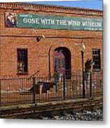 Gone With The Wind Museum Metal Print