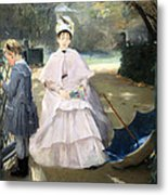 Gonzales' Nanny And Child Metal Print