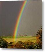 Gonzalo Rainbow Metal Print