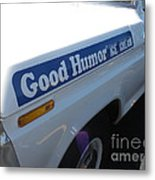 Good Humor Ice Cream Truck 03 Metal Print