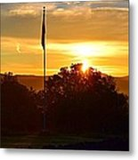 Good Morning America Metal Print