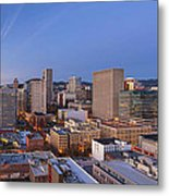 Good Morning Portland II Metal Print
