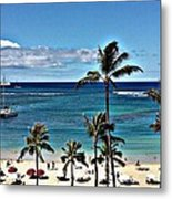 Good Morning Waikiki Metal Print