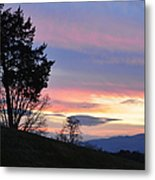 Good Night Blue Ridge Metal Print