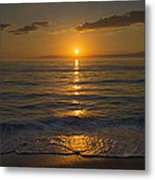 Good Night Gulf Coast Metal Print