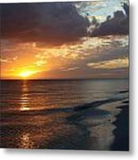Good Night Sanibel Island Metal Print