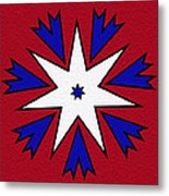 Good Old Red White And Blue Metal Print