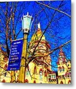 Good Vision By The Administration Building Metal Print