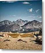 Goodale Pass Metal Print