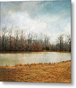 Goodbye Autumn Metal Print by Jai Johnson