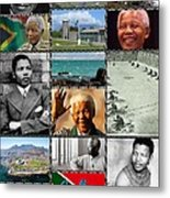 Goodbye Madiba Metal Print
