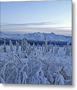 Goodnight Chugach Metal Print