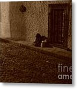 Goodnight Grandmother Sleep Well Metal Print