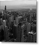 Goodnight Sky Metal Print