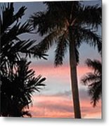 Goodnight Waterside  Metal Print by K Simmons Luna