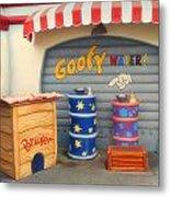 Goofy Water Disneyland Toontown Metal Print