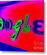 Google's Hallway Metal Print