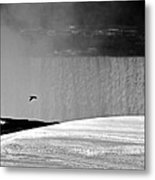 Goose With A Mission Metal Print