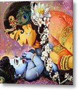 Gopalji Metal Print by Lila Shravani