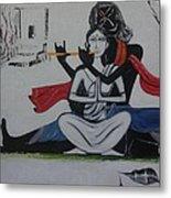 Gopi Bhaava Metal Print
