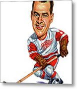 Gordie Howe Metal Print by Art