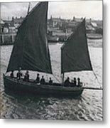 Gordonsrtoun School Seamanship Has An Important Place In Metal Print