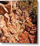 Gorge Trail Wall Metal Print
