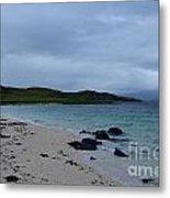 Gorgeous Coral Beach On Skye In Scotland Metal Print