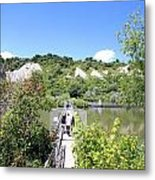Gorgeous Day At The Bluffs Metal Print