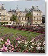 Gorgeous Day In Paris Metal Print