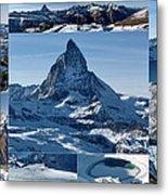 Gorgeous Matterhorn  Metal Print