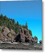 Gorgeous Rock Formations Metal Print