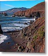 Gorgeous Sonoma Coast Metal Print
