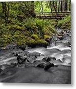 Gorton Creek Bridge Metal Print