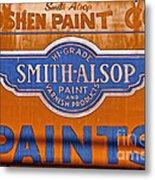 Goshen Paint Company Metal Print