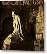 Goth Poster Metal Print