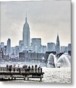 Gotham Harbor Metal Print